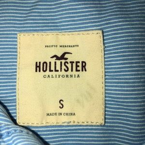 Hollister Tops - Striped button up